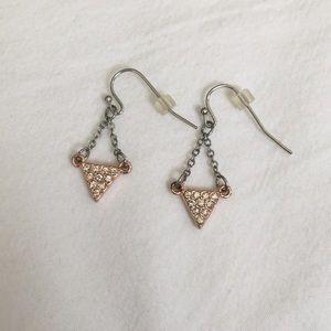 Jewelry - American Eagle Rose Gold Earrings
